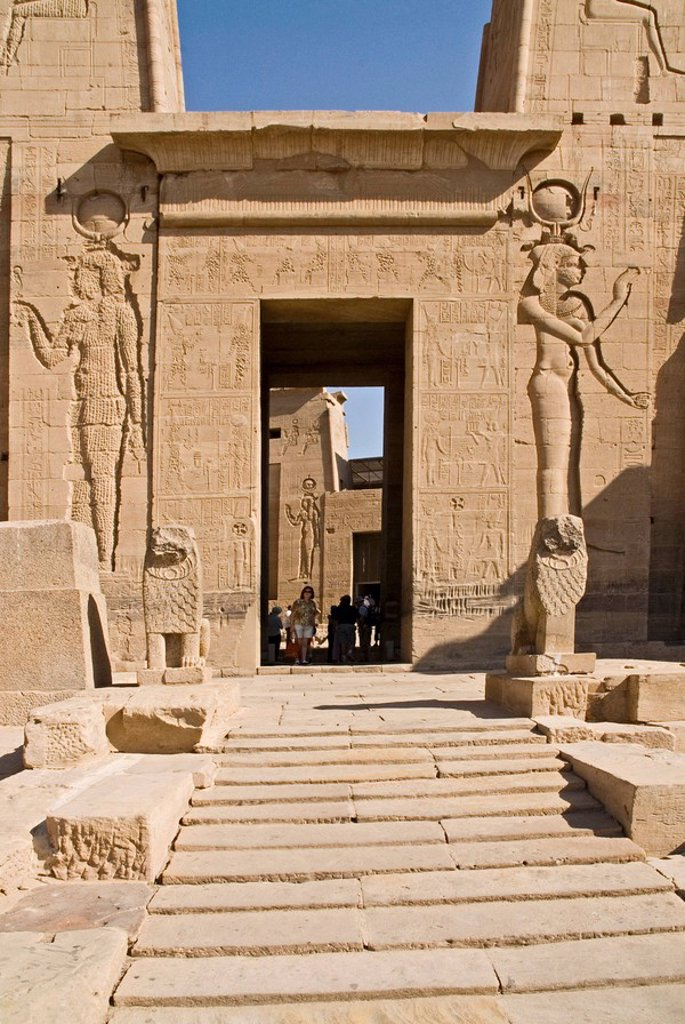 Stock Photo: 1841-42956 Temple of Philae, Egypt