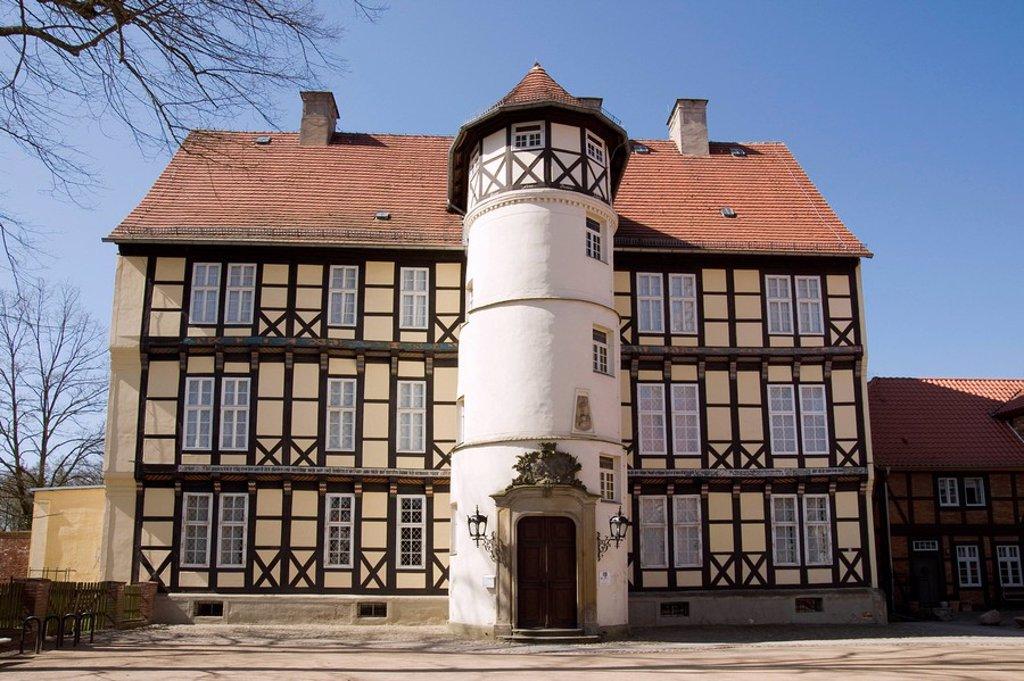 Johann Friedrich Danneil Museum, Salzwedel, Saxony_anhalt, Germany, Europe : Stock Photo