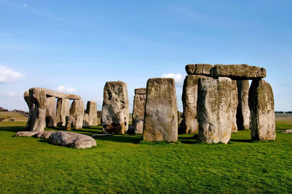 Stonehenge, uk, england, Wiltshire : Stock Photo