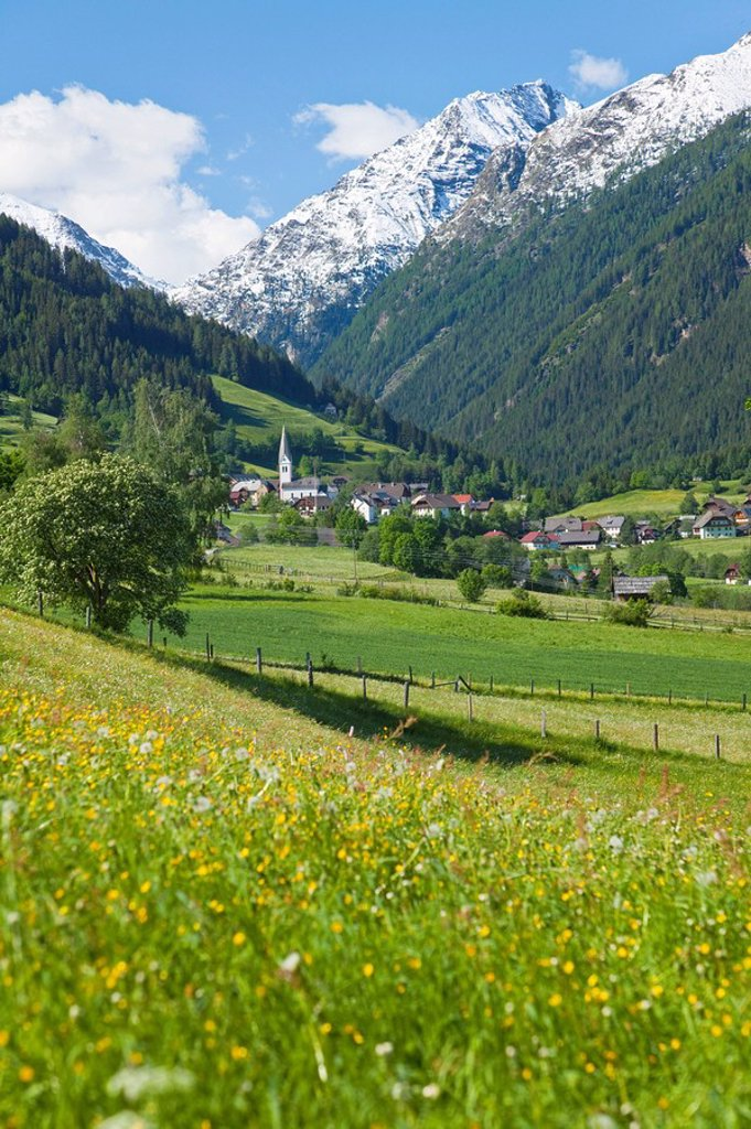 Lessach, Lungau, Salzburger Land, Austria : Stock Photo