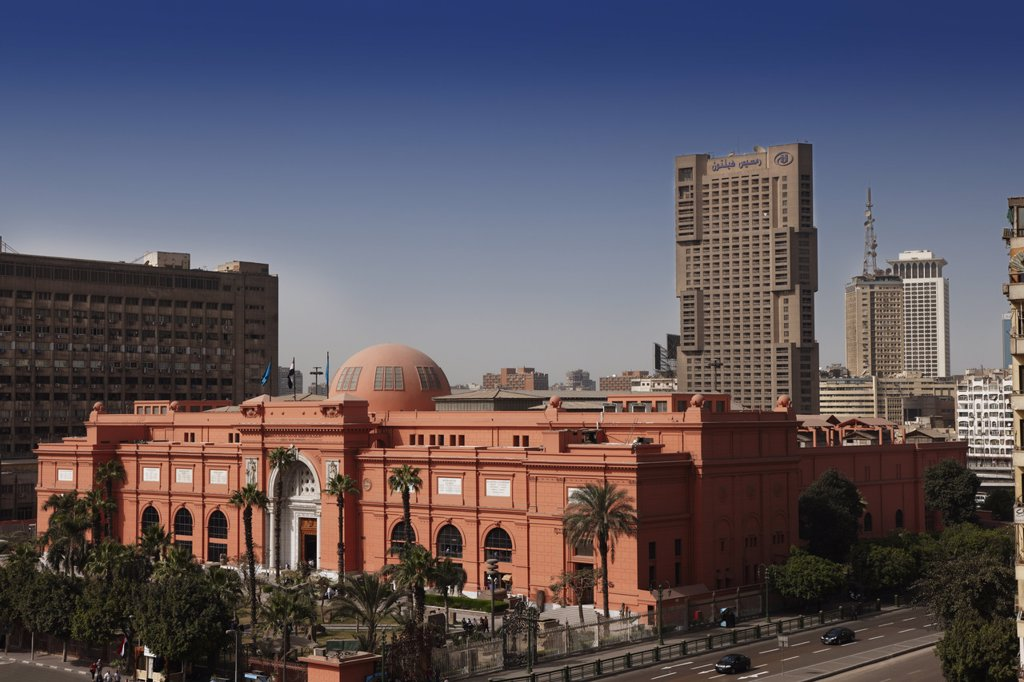 Stock Photo: 1841-79775 Egyptian Museum, Cairo, Egypt