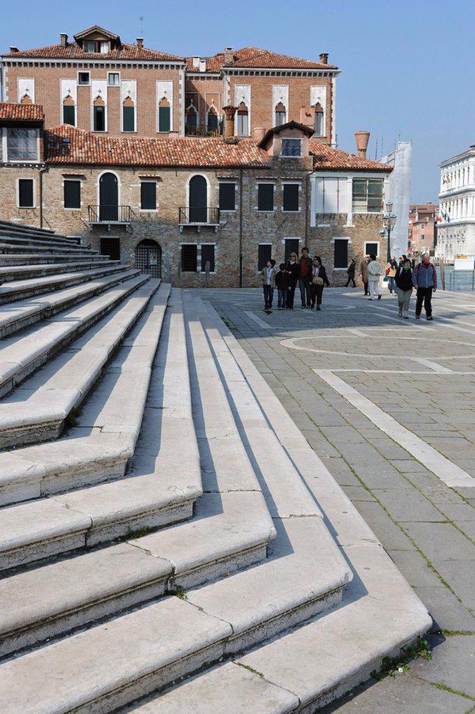 Stock Photo: 1841-9320 Santa Maria Della Salute, Venice, Italy, Europe