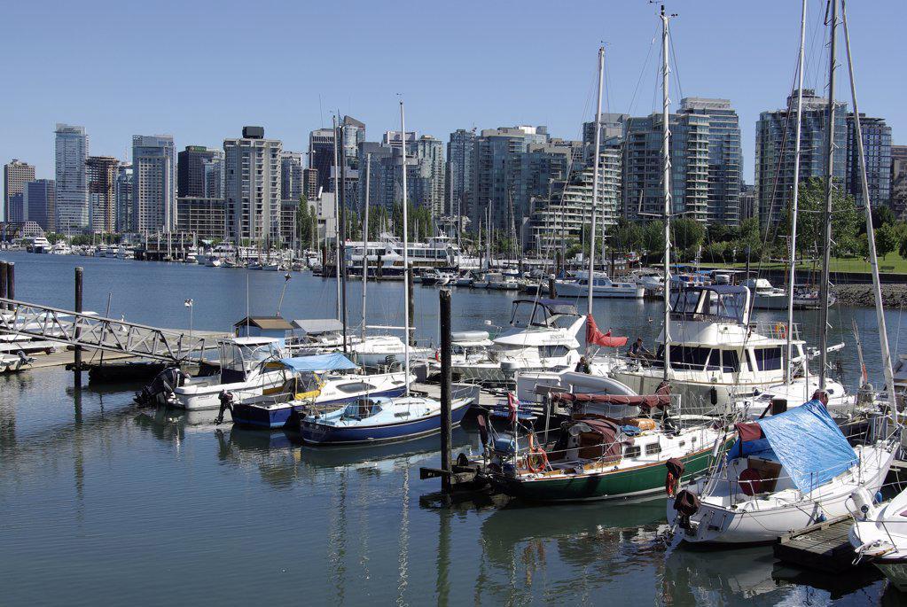 Vancouver Coal Harbour : Stock Photo