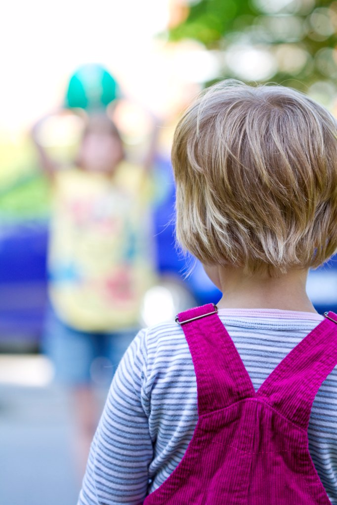 Stock Photo: 1841R-125149 Back of a girl