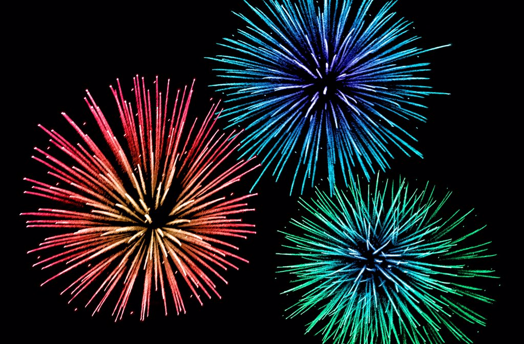 Stock Photo: 1841R-125195 Fireworks