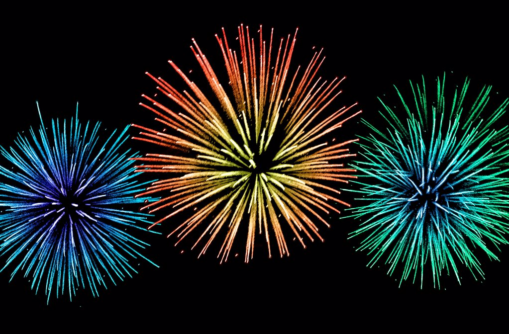 Stock Photo: 1841R-125196 Fireworks