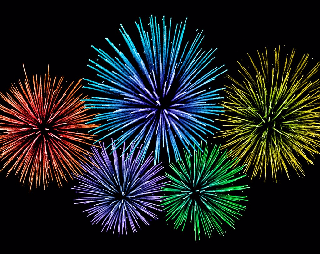 Stock Photo: 1841R-125199 Fireworks