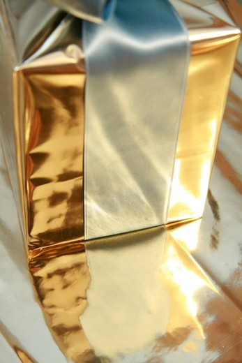 Close-up of gift box : Stock Photo