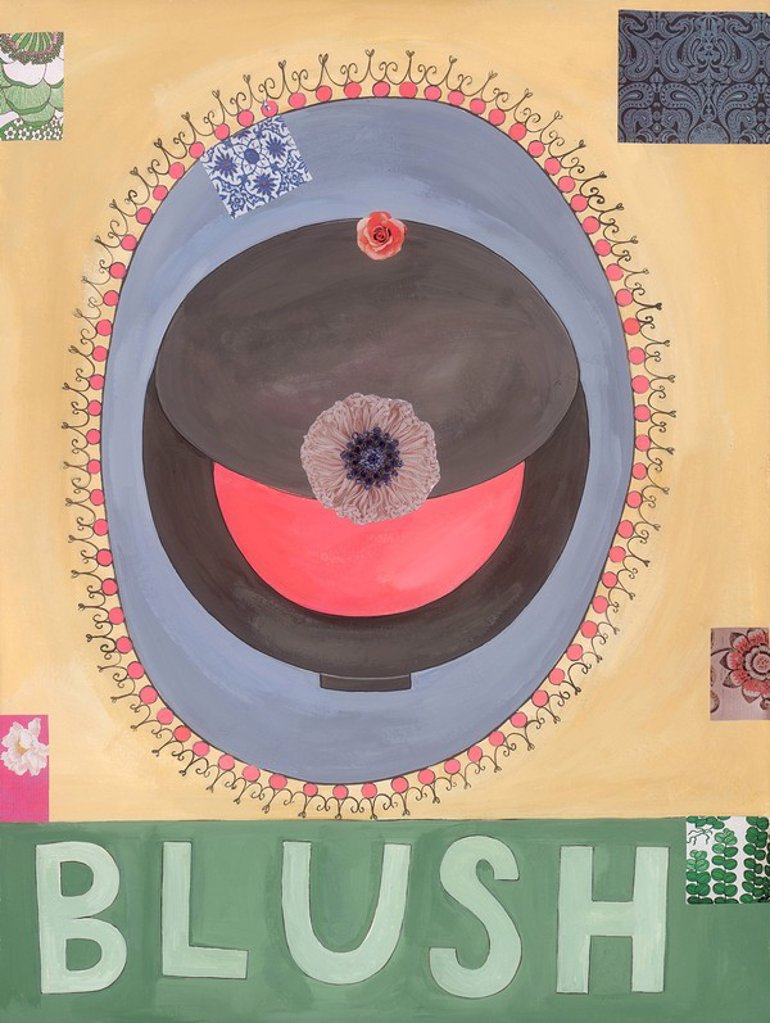 Blush : Stock Photo