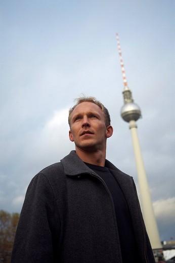 Stock Photo: 1844-1601 TV Tower, Alexanderplatz. Berlin, Germany, Europe