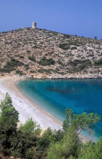 Stock Photo: 1844-2409 N  E  Aegean, Chios Trachilio Lithi, beach