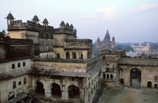 Stock Photo: 1844-3706 Orchha Madhya Pradesh, India, Asia