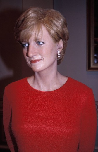 Lady Diana , Madame Tussaud´s Wax Museum, London, England, Great Britain, Europe : Stock Photo