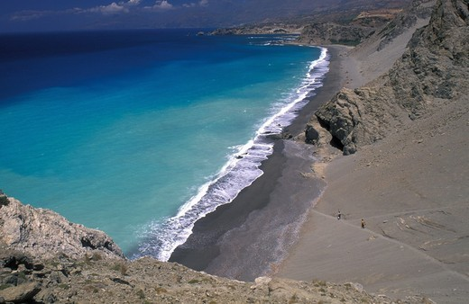 View of Agios Pavlos Rethymno Prefecture, Crete, Greece : Stock Photo