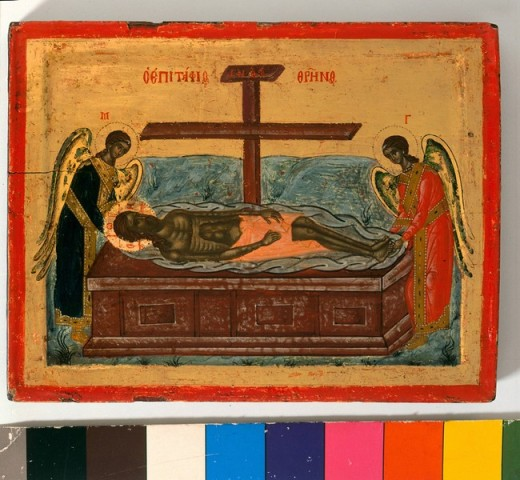 Exclusive: Mount Athos Hidden Treasures 2,101 - The Lamentation : Stock Photo