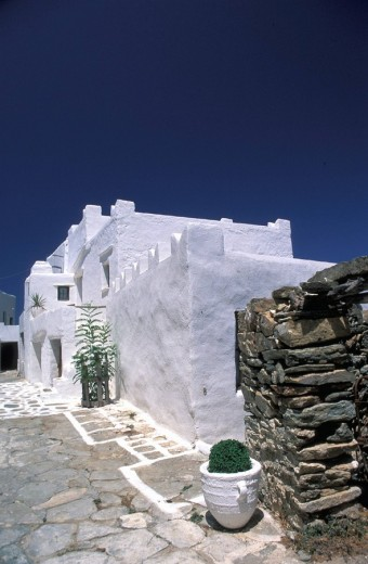 Stock Photo: 1844-8177 Sikinos, Pearl of the Cyclades Chorio