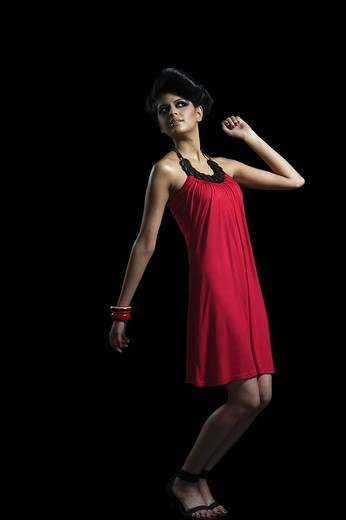 Female fashion model posing : Stock Photo