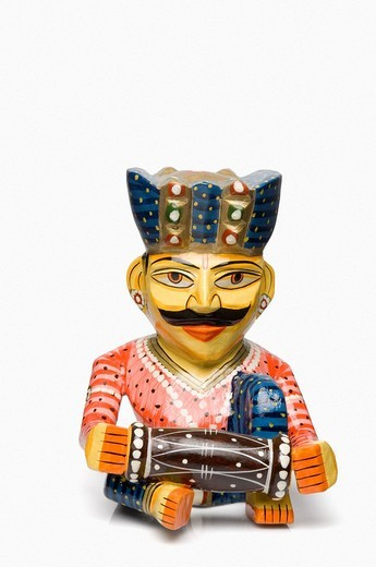 Stock Photo: 1846-4424 Close_up of a male figurine