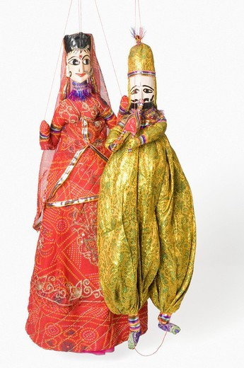 Stock Photo: 1846-4476 Close_up of puppets