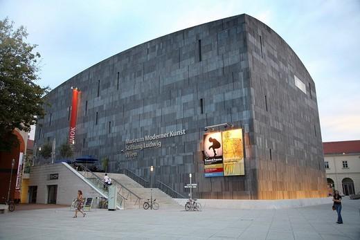 Museum of Modern Art, Ludwig Foundation, Museum Quarter, Vienna, Austria, Europe : Stock Photo