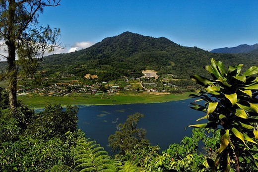 Stock Photo: 1848-100223 Buyan Lake, Bali, Indonesia
