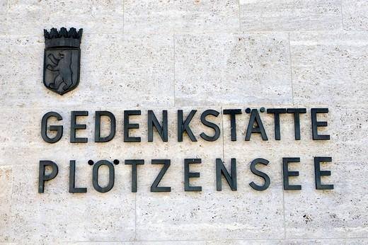 Stock Photo: 1848-10023 Memorial Place, Ploetzensee, Berlin, Germany