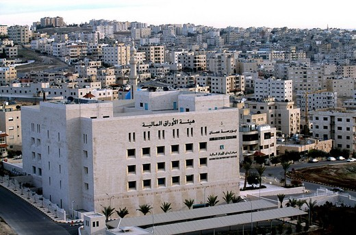 Stock Exchange, Amman, Jordan, the Middle East : Stock Photo