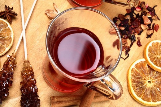 Fruit tea : Stock Photo