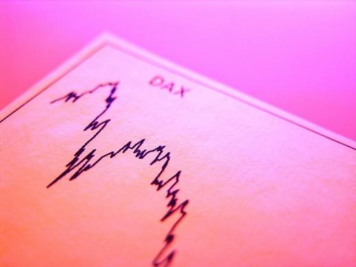 Chart, Dax : Stock Photo
