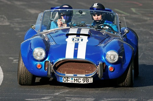 Stock Photo: 1848-101577 AC Cobra 427 Mohr, year of construction 1987, Nuerburgring Classic 2007