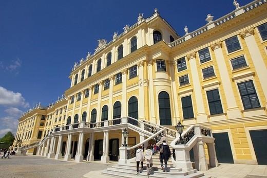 Schoenbrunn Palace, Vienna, Austria, Europe : Stock Photo