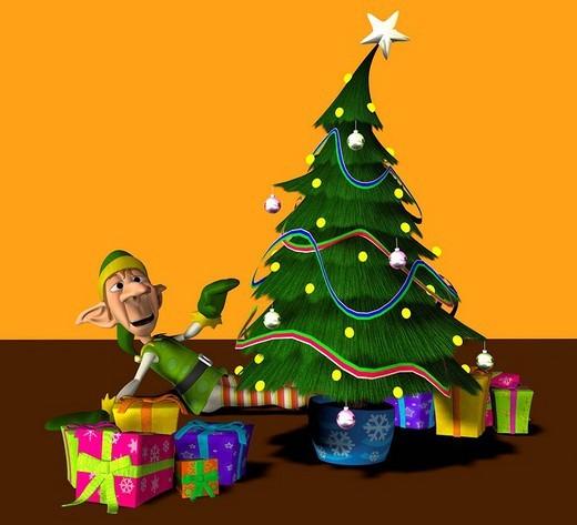 Stock Photo: 1848-10293 Elf