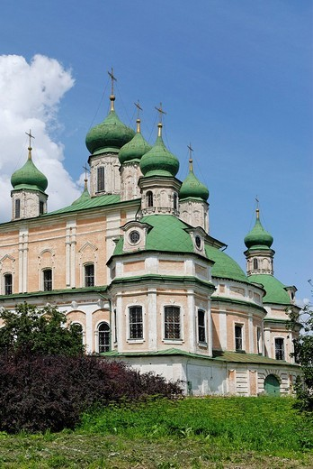Uspensky Cathedral in the Goritsky Monastery, Pereslavl_Zalessky, Russia : Stock Photo