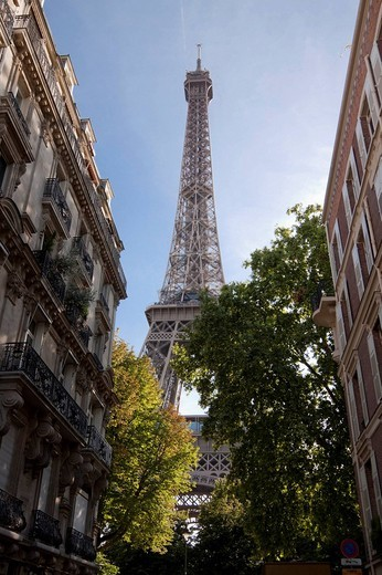Stock Photo: 1848-105078 Eiffel Tower, Paris, France, Europe
