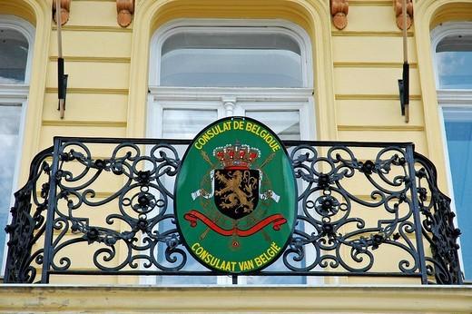 Belgian embassy, Kosice, Slovakia : Stock Photo