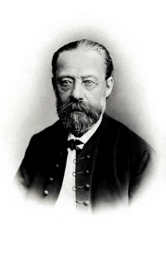 Historic portrait, Bedrich Smetana : Stock Photo