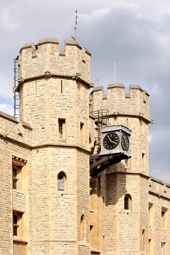 The Jewel House at the Tower of London, the storage site of the British crown jewels, England, United Kingdom, Europe : Stock Photo