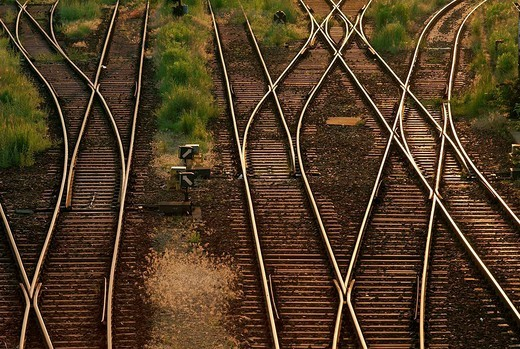 Railtracks : Stock Photo
