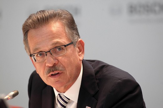 Franz Fehrenbach, Chairman and CEO, Robert Bosch GmbH : Stock Photo