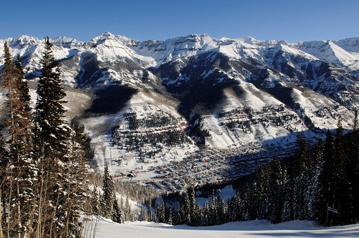 Ski region Telluride, Colorado, USA, North America : Stock Photo