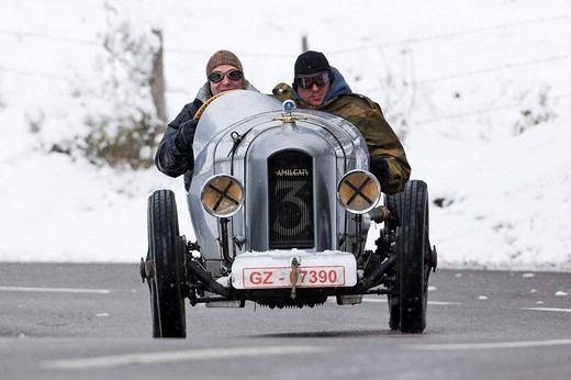 Amilcar CEES, built 1927, Jochpass Memorial 2007, Bad Hindelang, Bavaria, Germany : Stock Photo