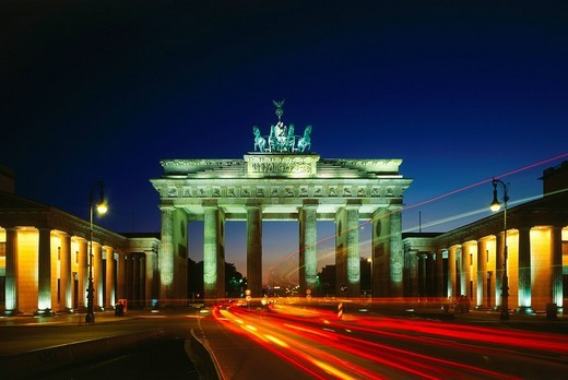 Brandenburg Gate, Berlin, Germany : Stock Photo