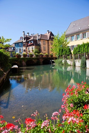 Stock Photo: 1848-115052 Historic centre, Colmar, Alsace, France, Europe