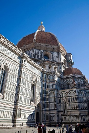 Santa Maria del Fiore Florence Tuscany Italy : Stock Photo