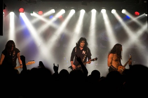 Stock Photo: 1848-118863 US_metal_rock band W.A.S.P. live in Schueuer, Lucerne, Switzerland