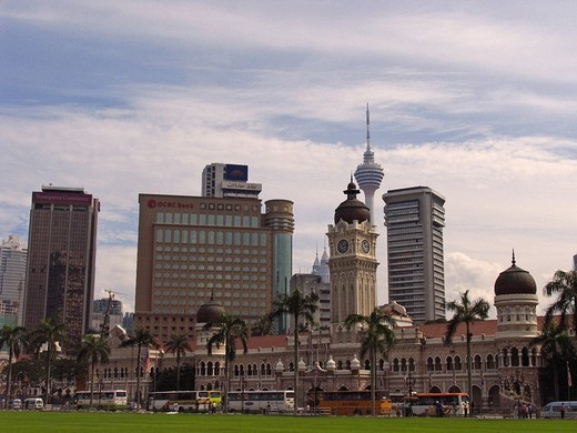 Merdeka Square, Kuala Lumpur, Malaysia, Asia : Stock Photo