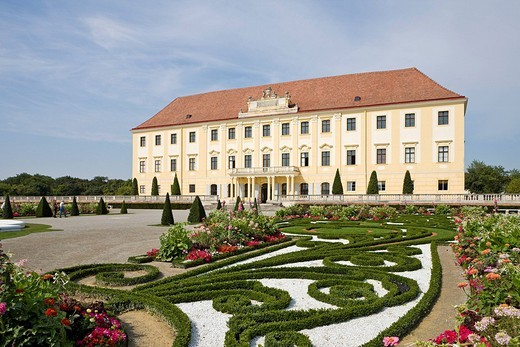 Stock Photo: 1848-123824 Schloss Hof Palace, Prince Eugene of Savoy´s Baroque palace, Marchfeld, Lower Austria, Europe