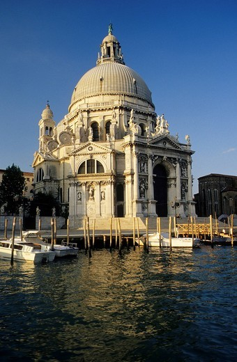 Stock Photo: 1848-124305 Basilica di Santa Maria della Salute, Venice, Italy, Europe