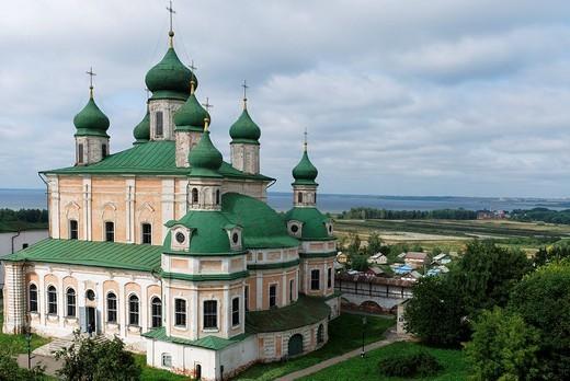 Assumption Cathedral, Goritsky monastery, Pereslavl_Zalessky, Russia : Stock Photo