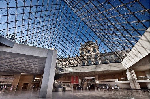 Louvre, Paris, France, Europe : Stock Photo